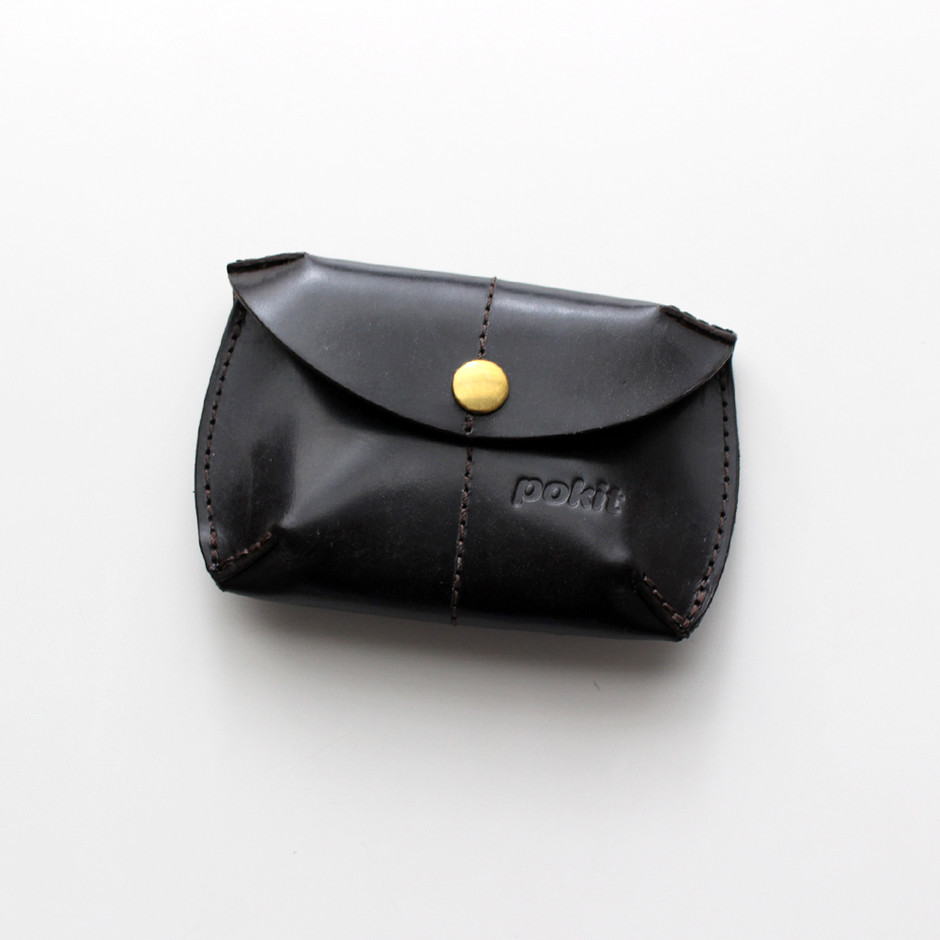 Pokit ポキット Bridle Leather Coin Purse