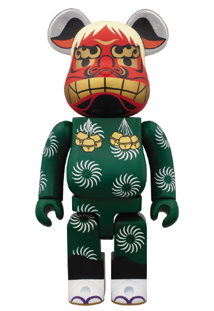 MEDICOM TOY - BE@RBRICK 獅子舞 400%