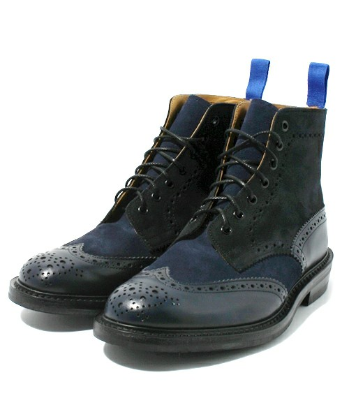 Tricker's(トリッカーズ) | Tricker's NAVYTONE COUNTRY BOOTS(ブーツ) - ZOZOTOWN