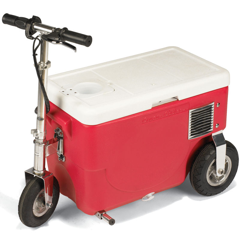 The 13 MPH. Cooler - Hammacher Schlemmer