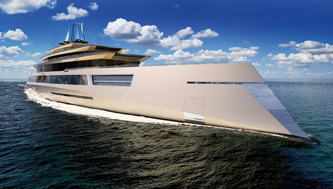 The Cool Hunter - A Concept Yacht Fit For Bond