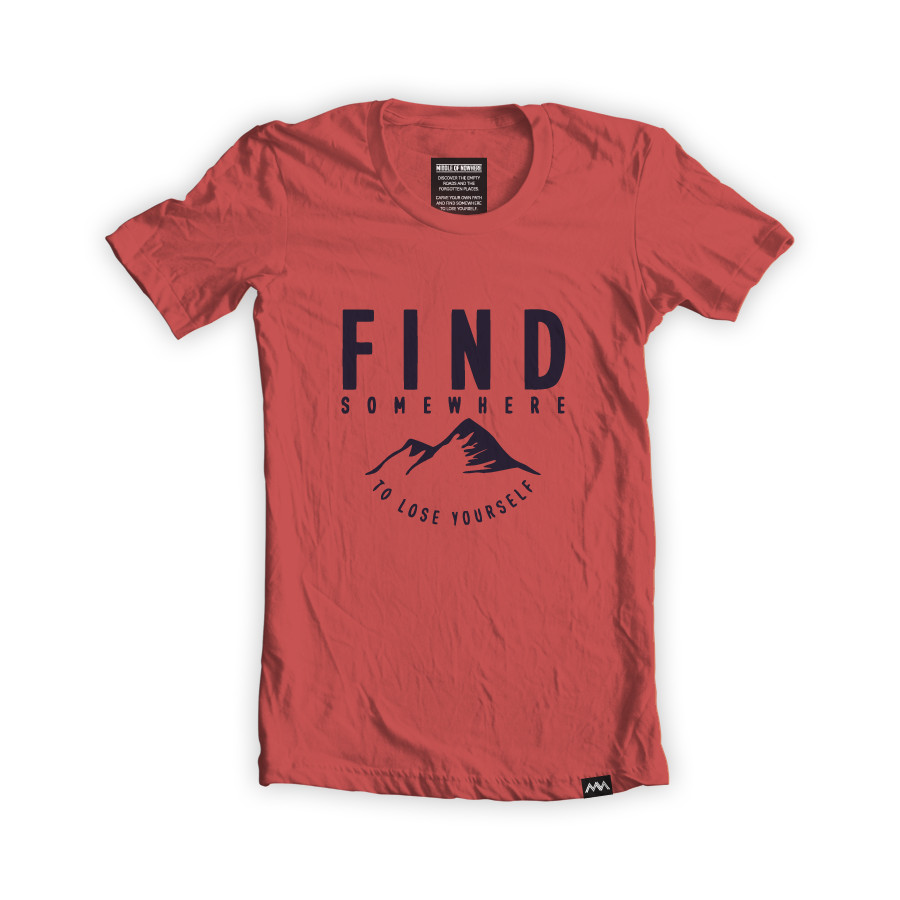 100% ORGANIC FIND T-SHIRT / middleofnowhere
