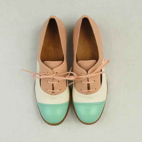Ingra Cutaway Oxfords by Chie Mihara | Shoes | Lille Boutique