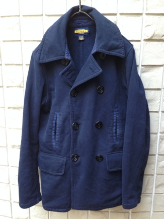 We're「Born in N.Y.」 RALPH LAUREN RUGBY SWEAT P-COAT