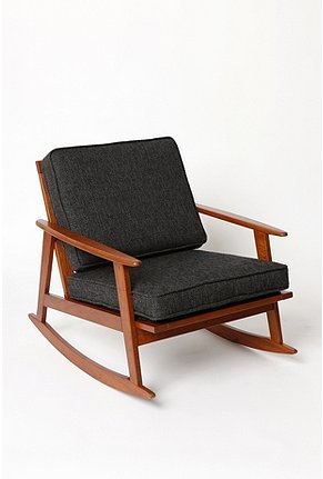 UrbanOutfitters.com > Mid-Century Rocker Chair
