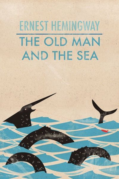 The Old Man and The Sea cover | Typeography/Graphics | Pinterest