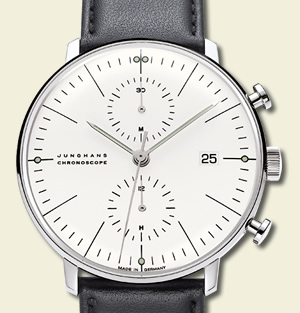 max bill by Junghans - JUNGHANS – THE GERMAN WATCH