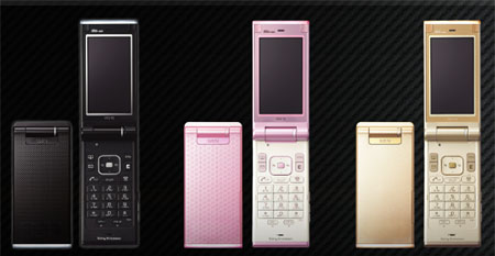 47 » Sony W51S Claim Shell in Gold, Pink & Black