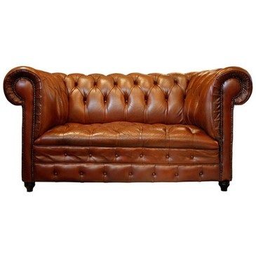 1STDIBS.COM - Jean-Marc Fray French Antiques - Vintage Havana Leather Chesterfield Sofa ($5000+) - Svpply from svpply.com | FASHIOLISTA | love your style!