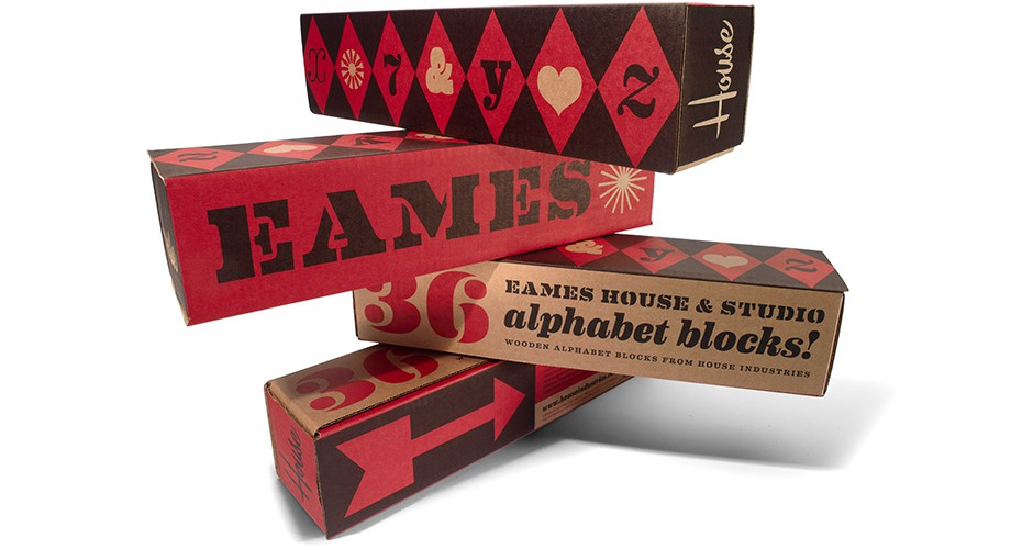 House Industries - Objects - Eames Blocks