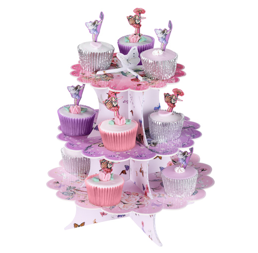Flower Fairies - Cake Stand - Talking Tables designers of stylish partyware