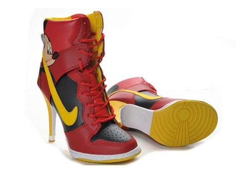 :: Nike Dunk High Heels Mickey Mouse ::