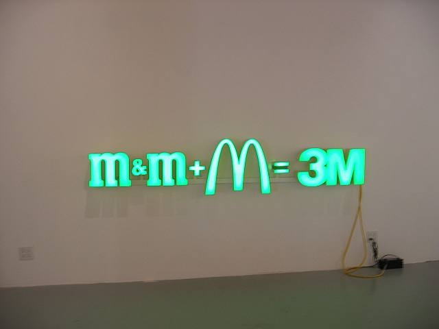 Nic Hess - m&m+M=3M - Artwork details at artnet