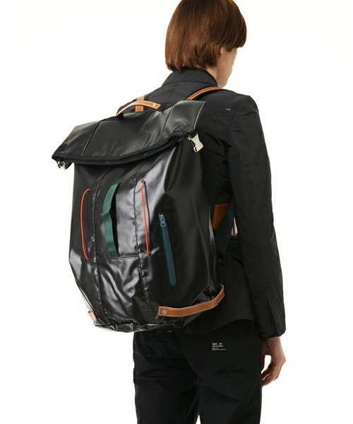 Tarp-Like Tech Packs - The Undercoverism SS10 Backpack is Durably Chic (GALLERY)