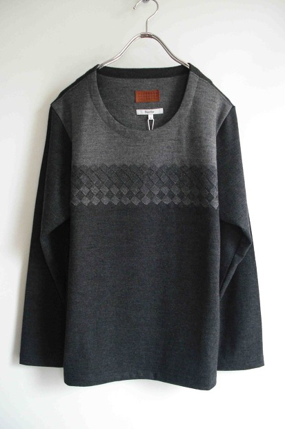 Bicester Woven Front Crew Neck [Lampa]