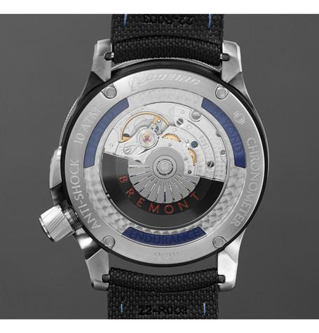 Bremont - Model 1/BK/SS Automatic Chronometer Watch