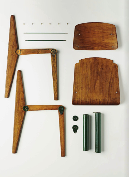 Things Organized Neatly: SUBMISSION: Jean Prouvé demountable chair at...