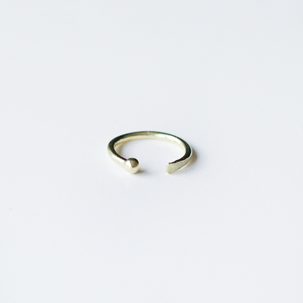 another feather — Chau Cuff Ring