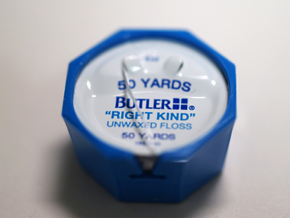 sutero choice - BUTLER Right Kind Unwaxed Floss
