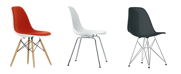 Eames Plastic Side Chair: At Home: Vitra.com