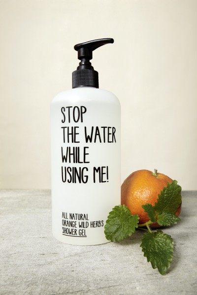 ALL NATURAL ORANGE WILD HERBS SHOWER GEL | SHOP | STOP THE WATER WHILE USING ME!