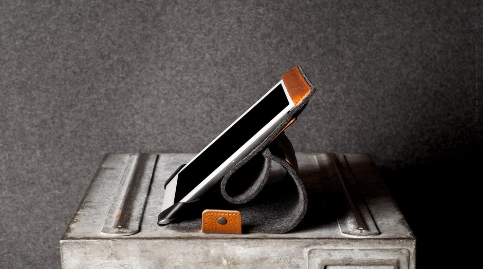 hard graft iPad case and stand in one. Handmade in Italy. | hard graft