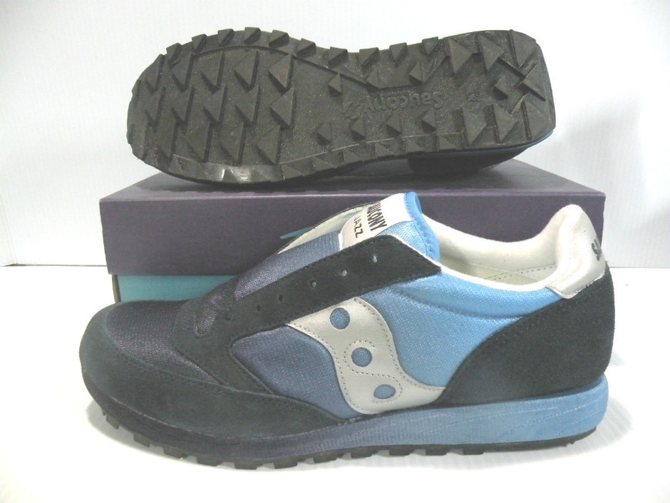 SAUCONY JAZZ FADE SNEAKERS MEN NAVY BLUE SHOES 2077-1 SIZE 12 NEW IN | eBay