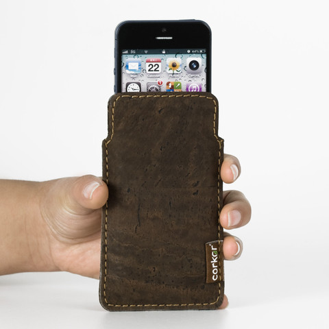 Buy Cork Case for Iphone 5 or iPhone 5S | Free Shipping | Corkor.com