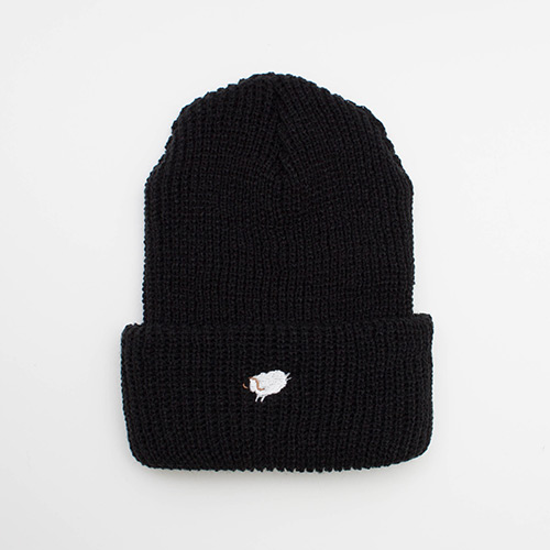 Watch Cap - Black - cup and cone WEB STORE