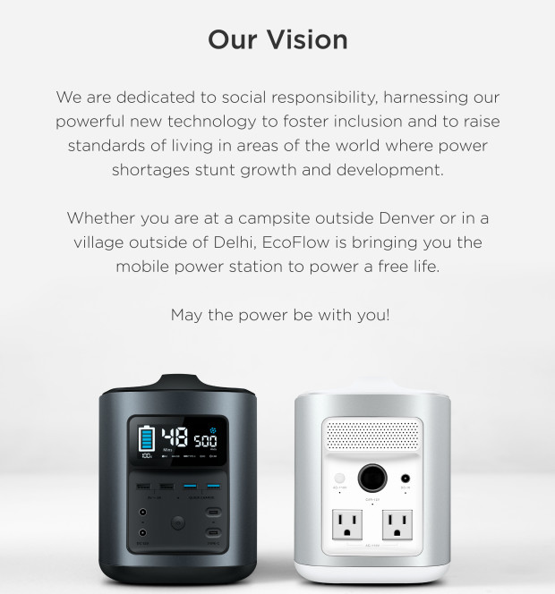 RIVER: Your Mobile Power Station & Solar Generator | Indiegogo