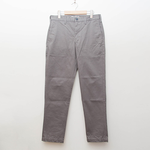 Custom Fit Chino Pants - Grey - cup and cone WEB STORE