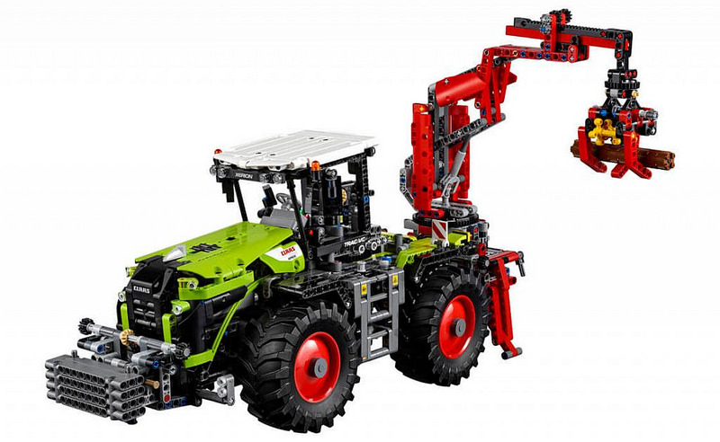 LEGO Technic CLAAS XERION 5000 TRAC VC (42054) | Flickr - Photo Sharing!