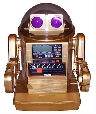 Tomy Omnibot 5402X - Gold - The Old Robots Web Site