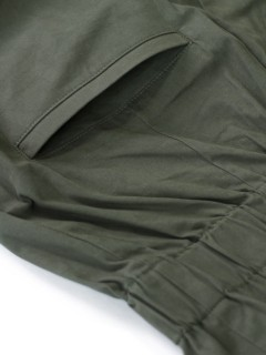 LOVE online store|WOMEN | P.A.M. Tied Up Paper Bag Trousers (hunter green)