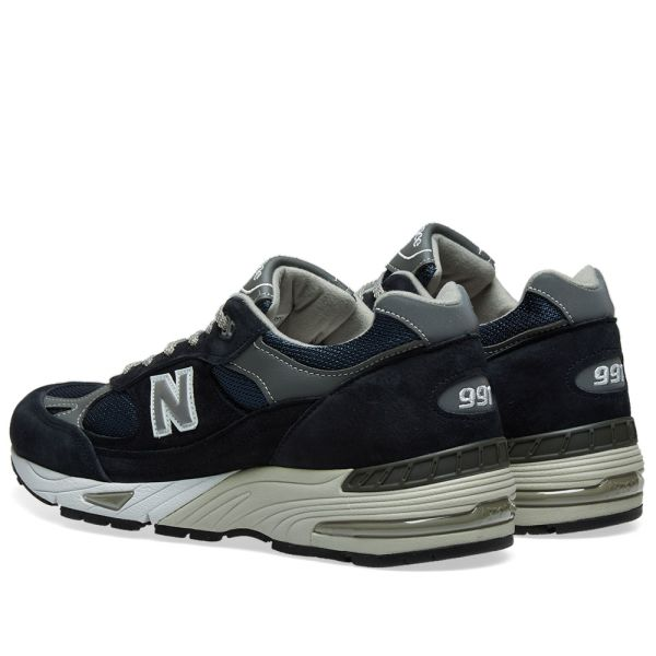 New Balance M991NV - Made in England Navy & Grey | END.
