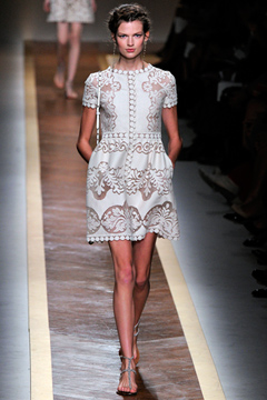 Valentino Spring 2012 Ready-to-Wear Collection on Style.com: Runway Review