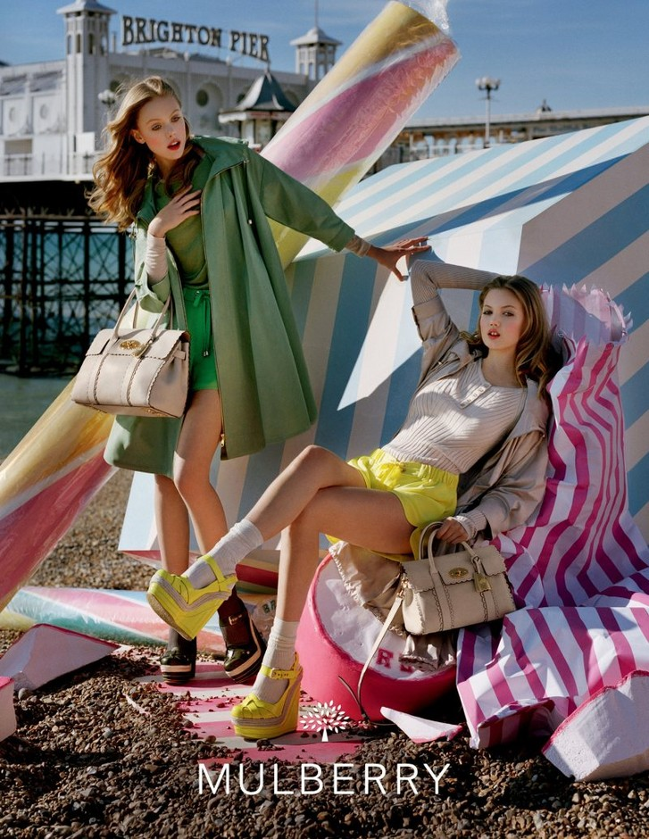 Lindsey Wixson & Frida Gustavsson for Mulberry Spring 2012 Campaign by Tim Walker | Fashion Gone Rogue: The Latest in Editorials and Campaigns