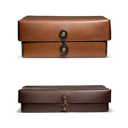 Bleecker Leather Boxes
