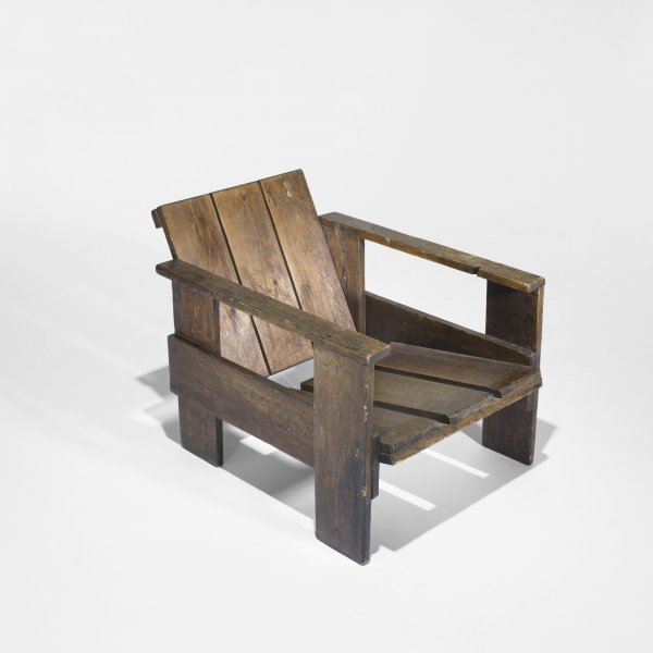 125: Gerrit Rietveld / Crate chairs, pair < Important Design, 14 December 2010 < Auctions   Wright