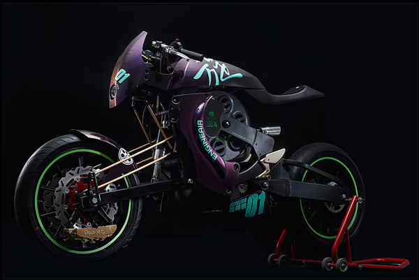 Revolver - Motorcycle Concept by Darren Kuo » Yanko Design