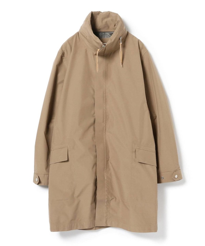 B JIRUSHI YOSHIDA(B印 ヨシダ)nonnative for B JIRUSHI YOSHIDA (GS) / SCIENTIST COAT NYLON RIPSTOP WITH GORE-TEX(R) 2L(コート ステンカラーコート)通販|BEAMS