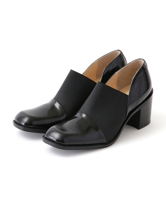 WIDE GORE FLAT SHOES|CLANE|CLANE OFFICIAL ONLINE STORE