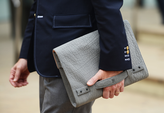 Shop the Streets: Nick Wooster x Parabellum Clutch: The GQ Eye: GQ on Style: GQ