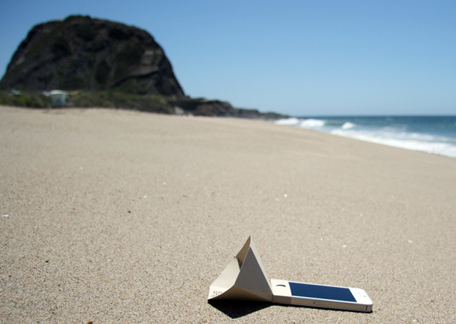 the eco-amp environmentally friendly iPhone speaker amplifier