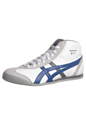 Onitsuka Tiger MEXICO MIDRUNNER - Sneaker high - white/true blue - Zalando.de