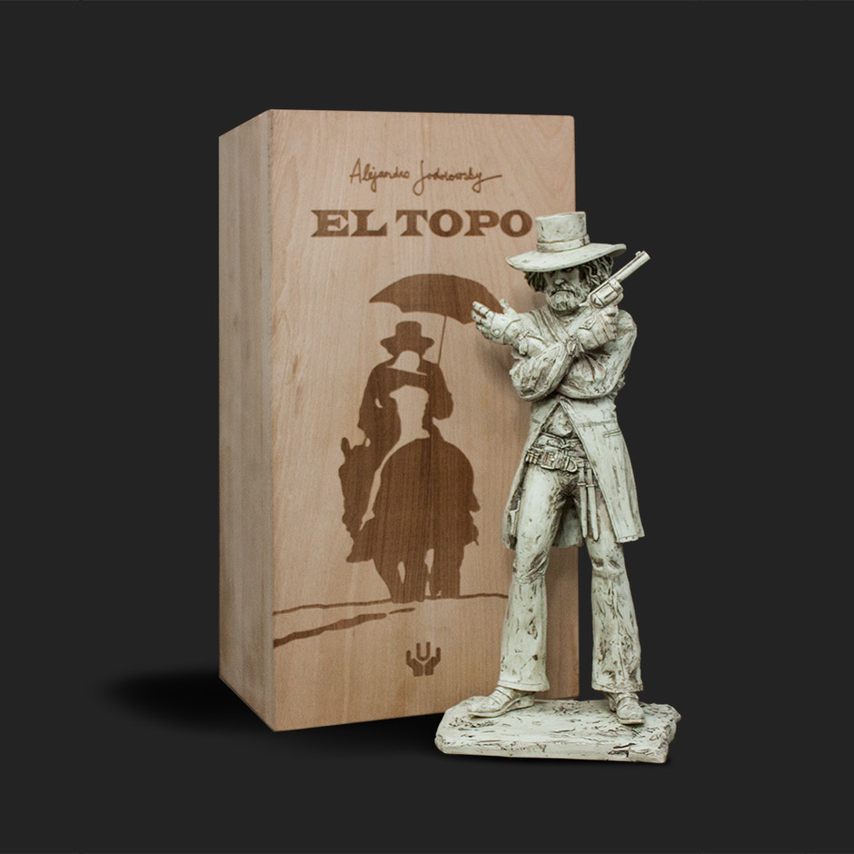 "SpankyStokes.com | Vinyl Toys, Art, Culture, & Everything Inbetween: Alejandro Jodorowsky's ""El Topo"" Art Toy from Unbox Industries & ABKCO Films!"