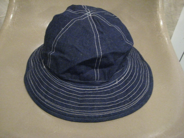 DEAD STOCK 40'S US ARMY デニムハット|S.O used clothing