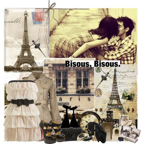 Betsey Johnson - Betsey Paris Eiffel Drop Earrings (Antique... - Polyvore