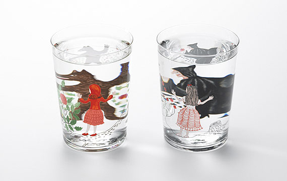 D-BROS/グラス「Method of drinking fairy tale」(赤ずきん)| Spiral Online Store