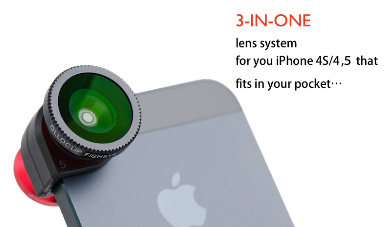 olloclip 3 in 1 Lens for iPhone 4/ 4S, 5